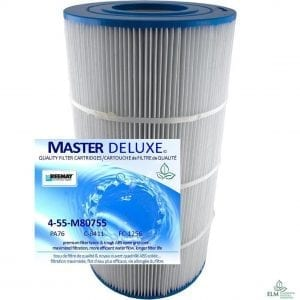 75sqft Filter 4-Pack M80755 PA76 Unicel C-8411 Filbur FC-1256